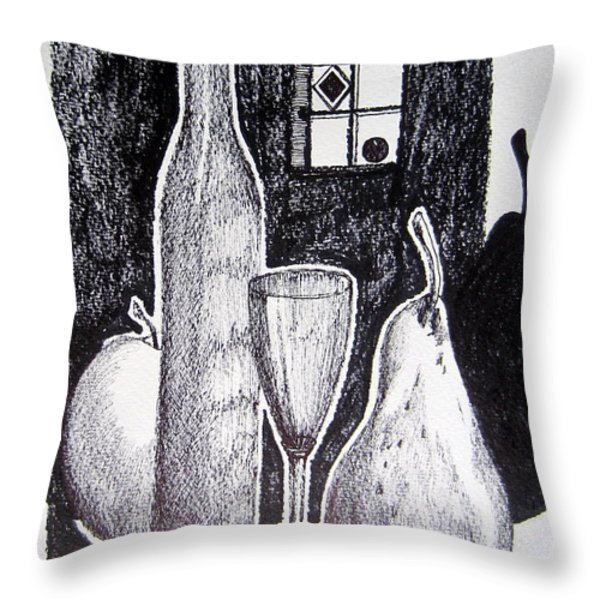 The Triumph Of The Shades Throw Pillow by Roberto Gagliardi