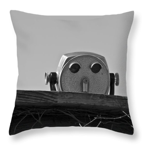 The Viewer No. 1 Throw Pillow by David Gordon