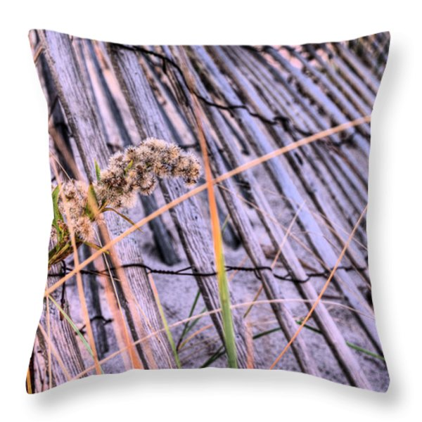 The Weed Throw Pillow by JC Findley