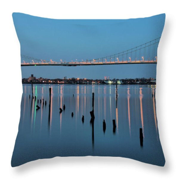 The Whitestone Throw Pillow by JC Findley