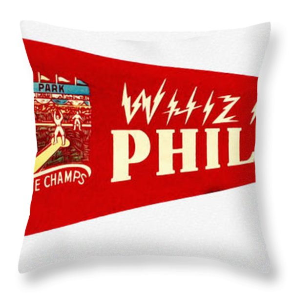 The Whiz Kids Throw Pillow by Bill Cannon