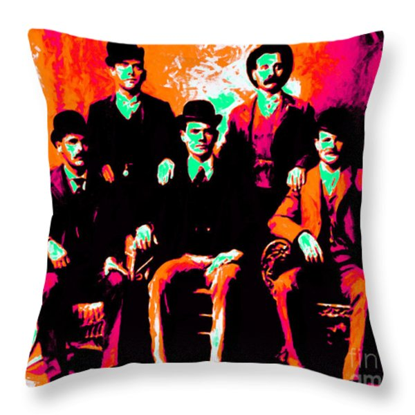 The Wild Bunch 20130212p38 Throw Pillow by Wingsdomain Art and Photography