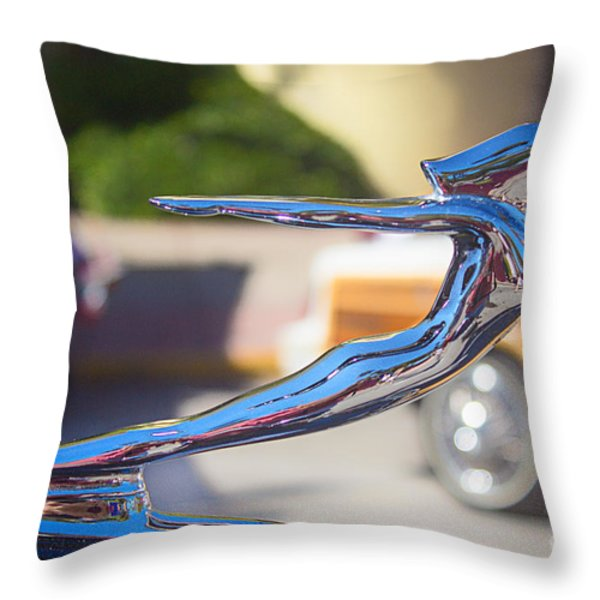The Woman In Every Man's Dream Throw Pillow by Rene Triay Photography