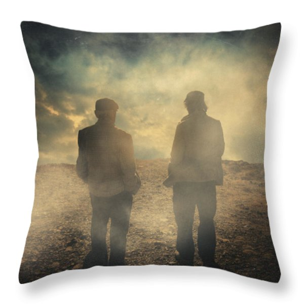 Them Throw Pillow by Taylan Soyturk