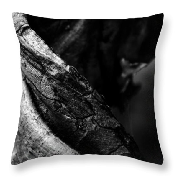 Themselves Alone Throw Pillow by Rebecca Sherman