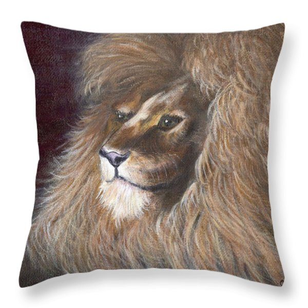 Theodore Throw Pillow by Catherine Howard