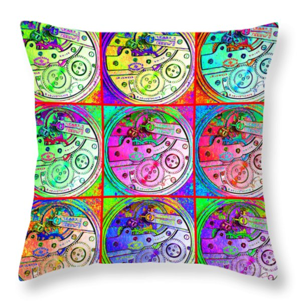 There Is Never Enough Time 20130606 Throw Pillow by Wingsdomain Art and Photography