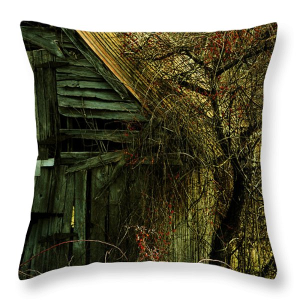 There Will Come Soft Rains Throw Pillow by Rebecca Sherman