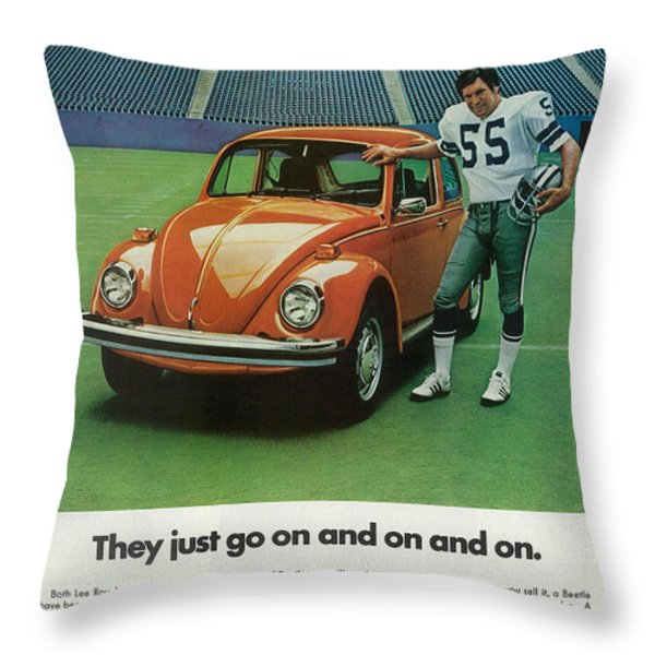 They Just Go On And On Throw Pillow by Nomad Art And  Design