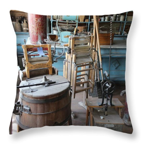 They've Come A Long Way Throw Pillow by Mark Eisenbeil