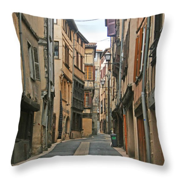 Thiers Throw Pillow by Nomad Art And  Design