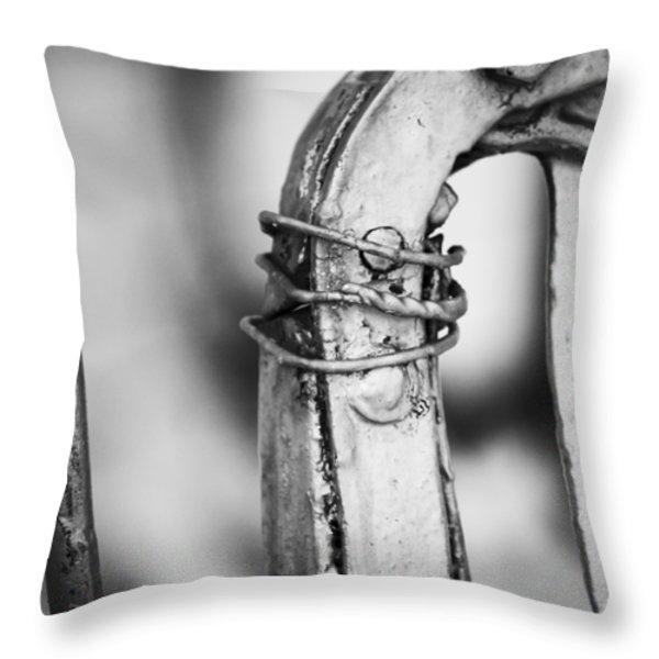 Thirsty Throw Pillow by Christi Kraft