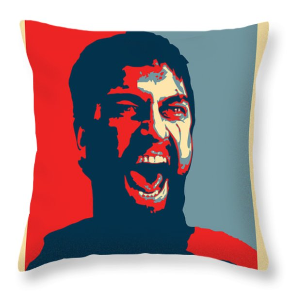 This Is Sparta Throw Pillow by Allan Swart