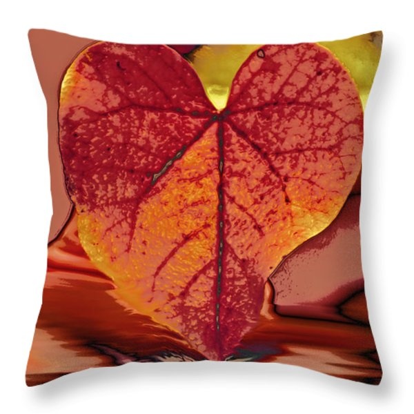 This One Is For Love Throw Pillow by Linda Sannuti