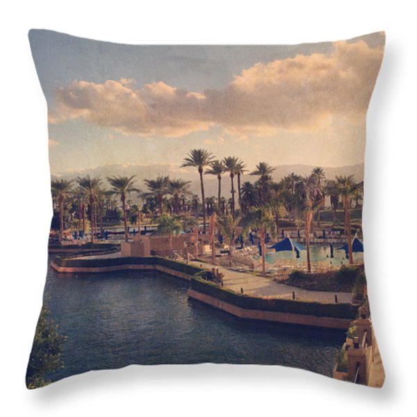 This Way Throw Pillow by Laurie Search