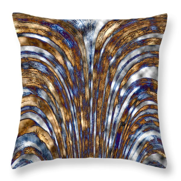 Those Golden Arches Throw Pillow by Carolyn Marshall
