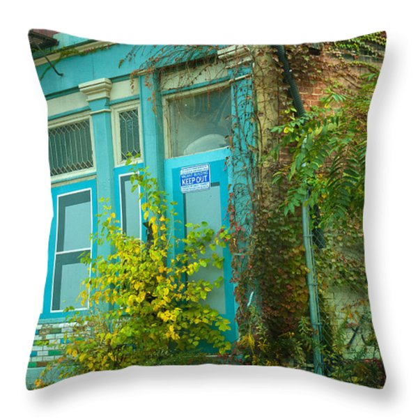 Those Were The Days Throw Pillow by Lena Wilhite