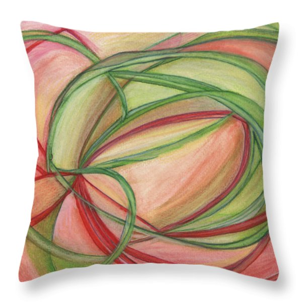 Thoughts Create Throw Pillow by Kelly K H B