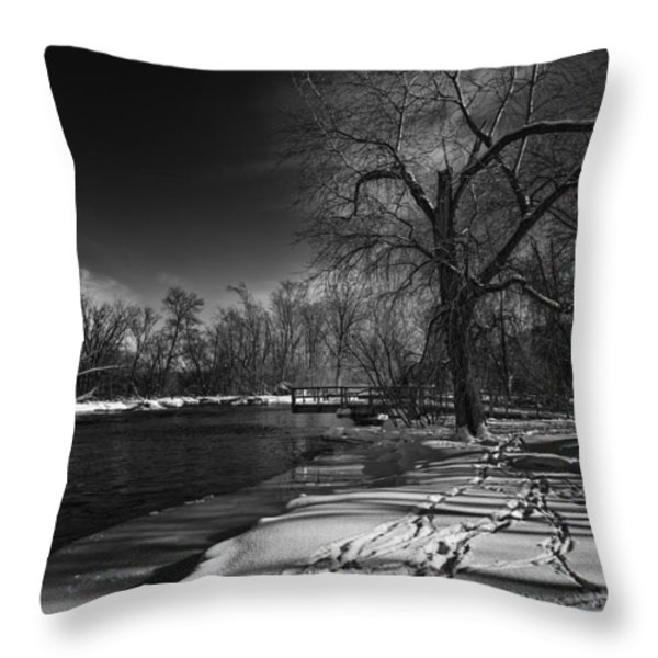 Thousand Islands Throw Pillow by Thomas Young