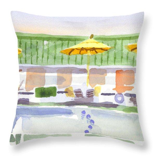 Three Amigos II Throw Pillow by Kip DeVore