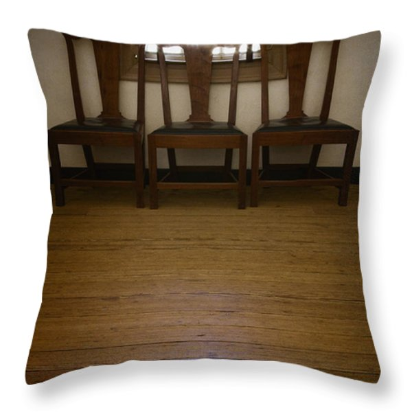 Three Throw Pillow by Margie Hurwich