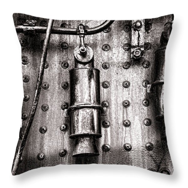 Three Sisters Throw Pillow by Olivier Le Queinec