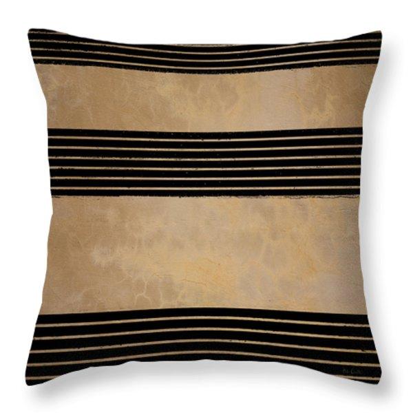Three Steps Throw Pillow by Bob Orsillo