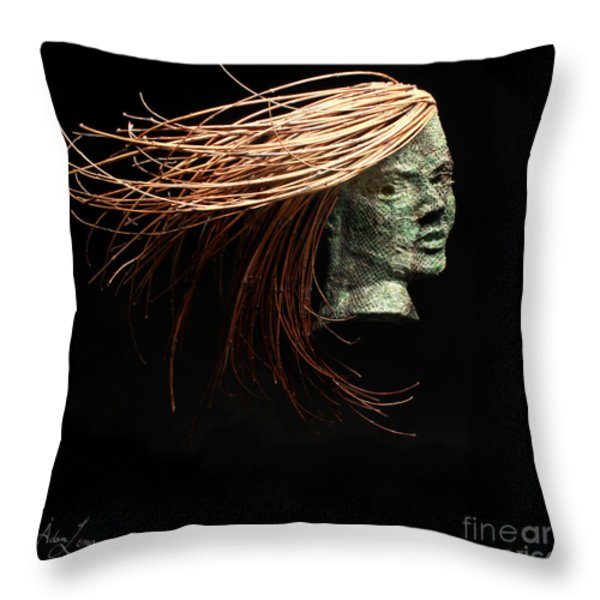 Thrill Throw Pillow by Adam Long