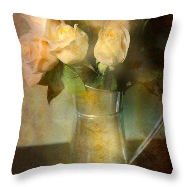 Ti Amo Throw Pillow by Diana Angstadt