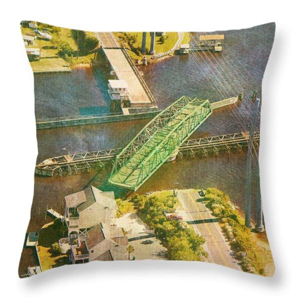 TI Swingin' Swing Bridge Throw Pillow by Betsy A  Cutler