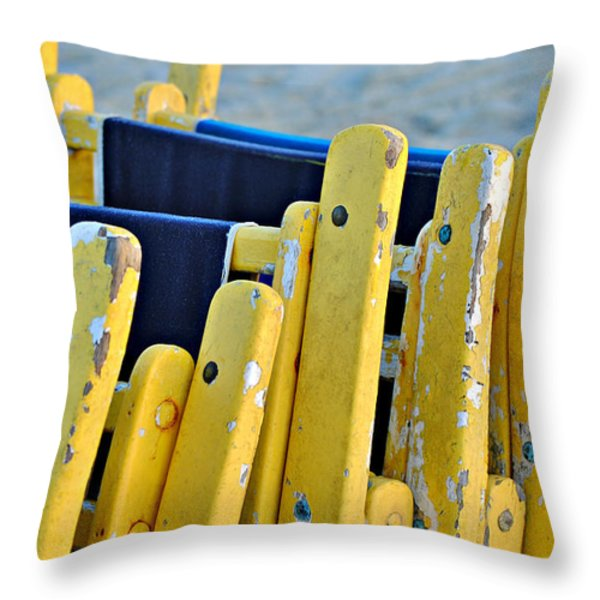 Til Tomorrow Throw Pillow by Kelly Nowak