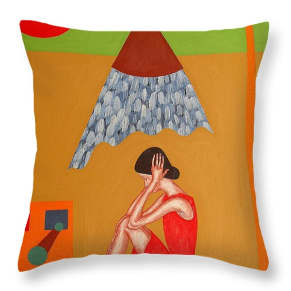 Time For A Cooldown Throw Pillow by Patrick J Murphy