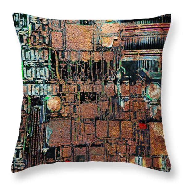 Time For A Motherboard Upgrade 20130716 Throw Pillow by Wingsdomain Art and Photography