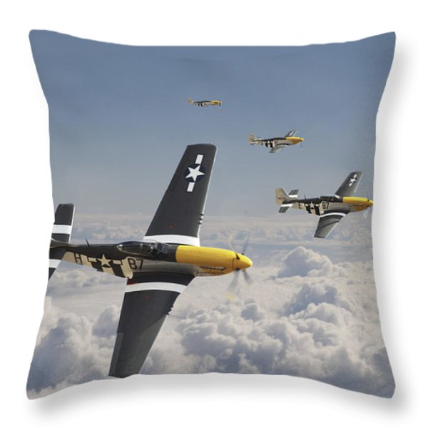 Time for Home Throw Pillow by Pat Speirs