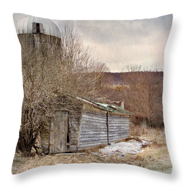 Time Gone By  Throw Pillow by A New Focus Photography