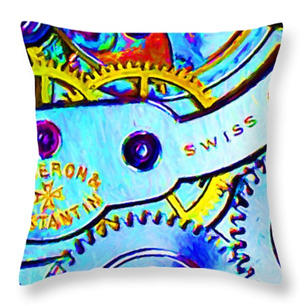 Time In Abstract 20130605 Long Throw Pillow by Wingsdomain Art and Photography