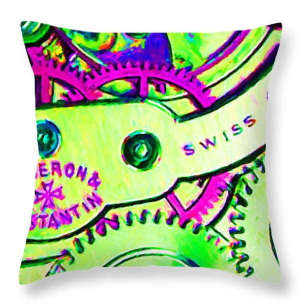 Time In Abstract 20130605m108 Long Throw Pillow by Wingsdomain Art and Photography