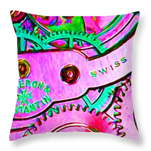 Time In Abstract 20130605p108 Long Throw Pillow by Wingsdomain Art and Photography