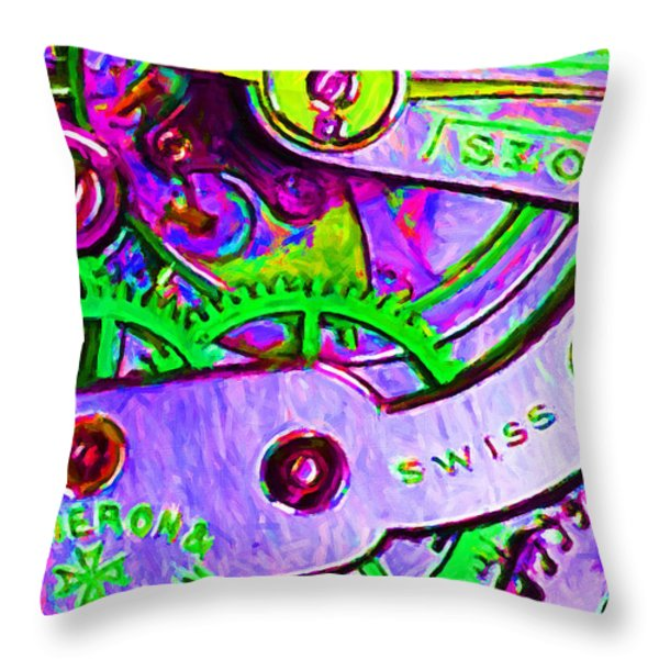 Time In Abstract 20130605p72 Throw Pillow by Wingsdomain Art and Photography