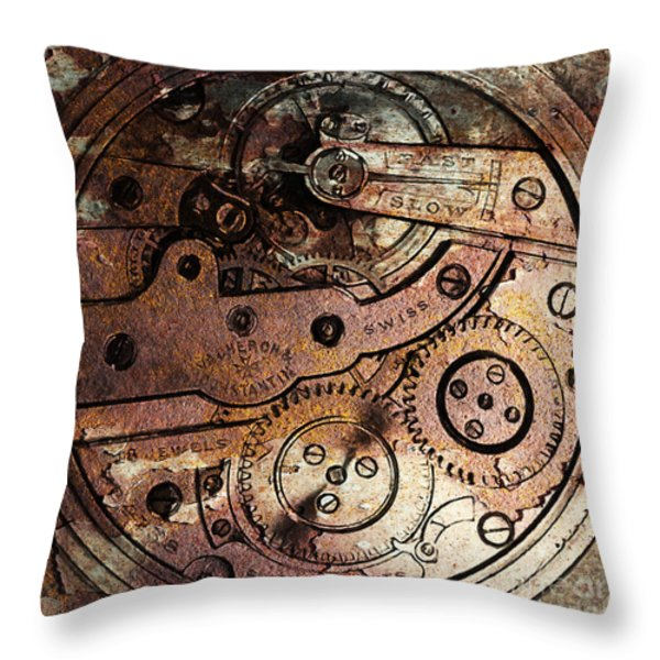 Time In Abstract 20130605rust Square Throw Pillow by Wingsdomain Art and Photography