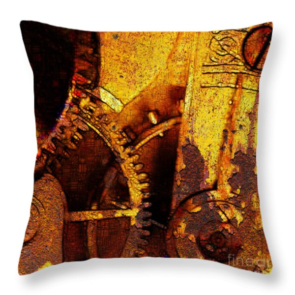 Time Keeps On Slipping Into The Future 20130716 square Throw Pillow by Wingsdomain Art and Photography