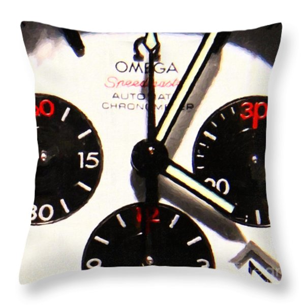 Time Piece - 5D20658 Throw Pillow by Wingsdomain Art and Photography