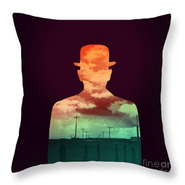 Time Stood Still Throw Pillow by Budi Satria Kwan
