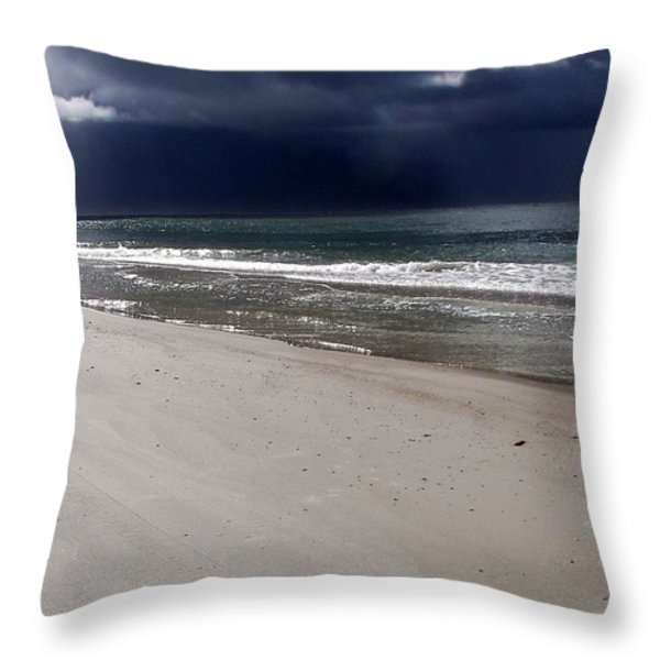 TIME TO GO Throw Pillow by KAREN WILES