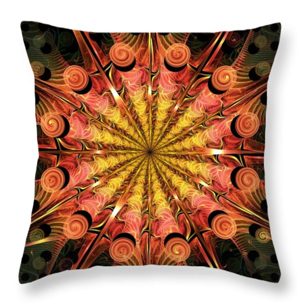 Timeless Throw Pillow by Anastasiya Malakhova