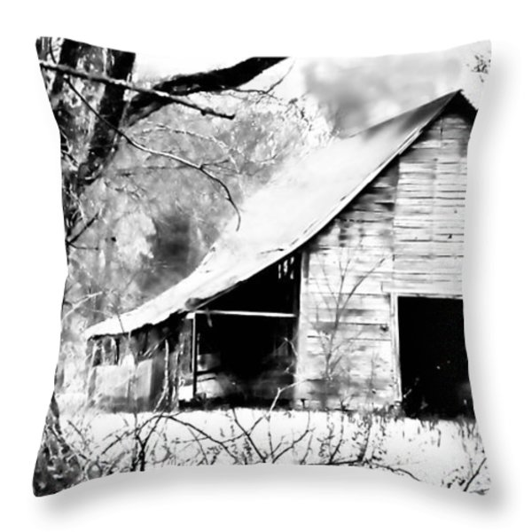 Timeless In Black And White Throw Pillow by Betty LaRue
