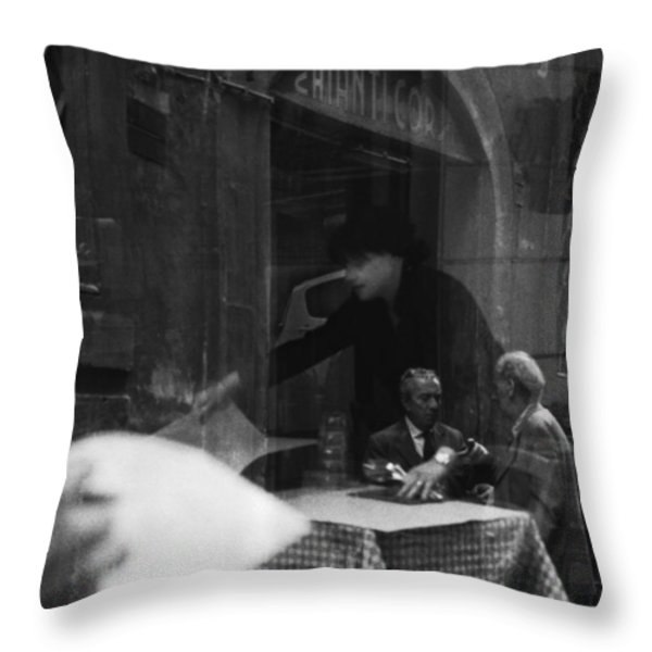 Timeless Rome Throw Pillow by Becky Kozlen