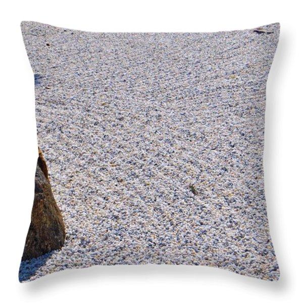 Timeless Zen Throw Pillow by Joy Hardee