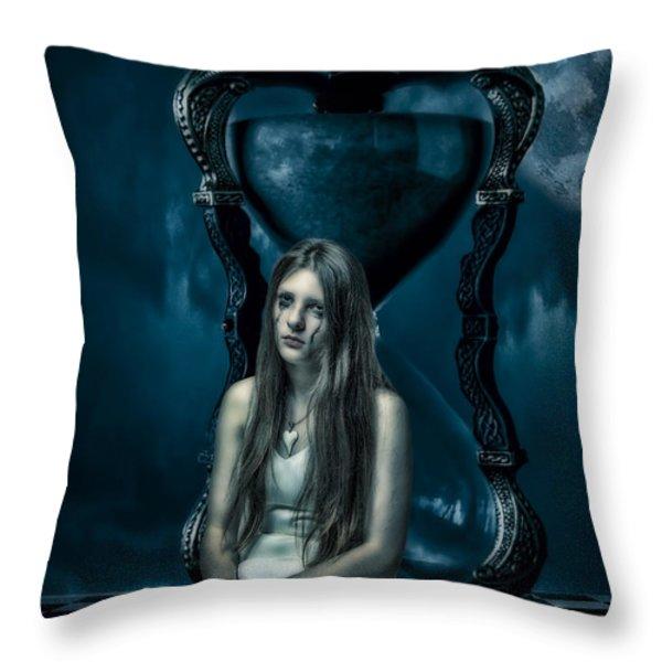 Timescape Throw Pillow by Erik Brede
