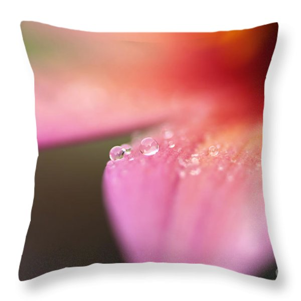Tiny Bubbles Throw Pillow by Darren Fisher